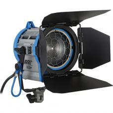 ARRI Junior 650 Plus (L3.79400.B) Tungsten Fresnel Spotlight c/w Barn Doors and Diffuser Frame 650W L0.79400.B