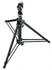 Manfrotto 070BU Follow Spot Stand with Leveling Leg (Black, 4.8')