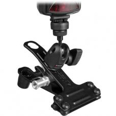 Manfrotto 175F-1 Justin Spring Clamp with Flash Shoe