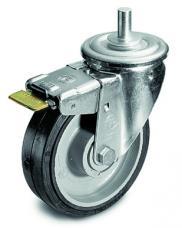 Manfrotto 374 Braked Wheel Set (160mm Diameter) for 387XU