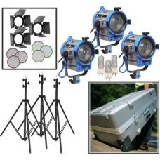 ARRI 650W Fresnel Compact 3-Light Kit LK.0005658 L0.79400.C