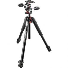 Manfrotto MT055XPRO3-3W Aluminum Tripod with 3-Way Pan/Tilt Head