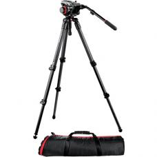 Manfrotto 504HD Head w/535 2-Stage Carbon Fiber Tripod System 504HD,535K