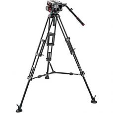 Manfrotto 509HD Video Head with 545B Tripod Legs, Mid-spreader & a Padded Bag 509HD,545BK
