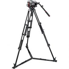 Manfrotto 509HD Video Head with 545GB Tripod Legs, Ground Spreader & Padded Bag 509HD,545GBK