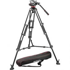 Manfrotto MVH502A Fluid Head and 546B Tripod System with Carrying Bag MVH502A,546BK-1