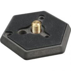 Manfrotto 030-38 Hexagonal Quick Release Plate with 3/8