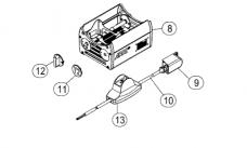 L4.40715.E Focus knob (1 pc)  T2  ST1  ST2  T5  ST5  D5  D12  D25  D40