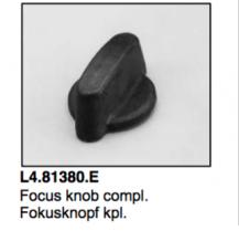 L4.81380.E Focus knob  ARRI 1000-5000  Studio 1000-5000  T12  Arrisun 60  Compact 575-12000