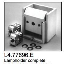 L4.77696.E Lamp holder complete  Compact 6000  X60  Arrisun 60