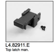 L4.82911.E Comfort top latch (new grey coating)  Compact 1200-12000  T12