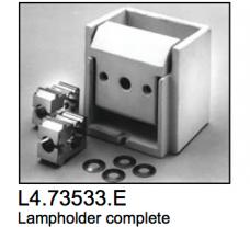 L4.73533.E Lamp holder cpl.  Compact 1200- 4000  X12  X40/25  Arrisun 12  Arrisun 40/25