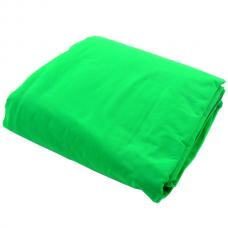 Chromakey Curtain 3 x 3.5m Green  LL LC5781