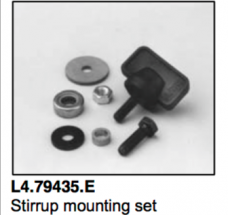 L4.79435.E Stirrup mounting set  ARRI 300-650 plus  Compact 200