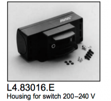 L4.83016.E Switch housing manual  200-240V  ARRI 5000  Studio 5000  T12