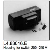 L4.83016.E Switch housing manual  200-240V  ARRI 5000  Studio 5000  T12