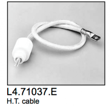 L4.71037.E H.T. cable (1 pcs)  AD18/12
