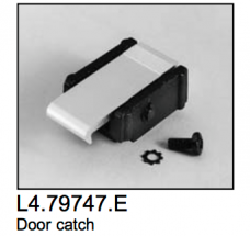 L4.79747.E Door catch set; ARRI 1000-5000 Studio 1000-5000  T12  Compact 575-12000  Arrisun 5-120