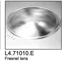L4.71010.E Fresnel lens  625mm  Studio 20K  T24  AD18/12