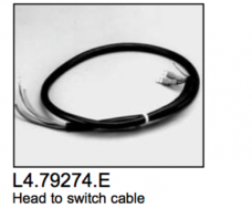 L4.79274.E Head to switch cable  ARRI 300-650 plus