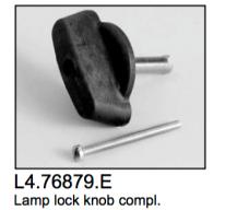 L4.76879.E Lamp lock knob cpl.  Arrisun 60/120