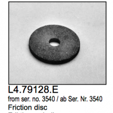 L4.79128.E Friction disc  Arrisun 40/25  Arrisun 60  X12