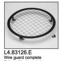 L4.83126.E Wire guard cpl.  ARRI 2000  Studio 1000  Compact 1200  Studio 250 Ceramic