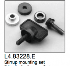 L4.83228.E Stirrup mounting set  Minicyc/flood 1000