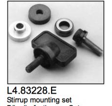 L4.83228.E Stirrup mounting set  Minicyc/flood 1000