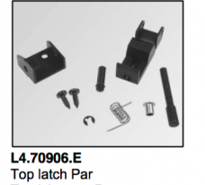 L4.70906.E Top latch Par  Arrilux 400