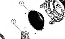 L4.37682.E Reflector (1 pc)  M18
