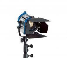 ARRI Junior 300 Plus 300W Fresnel Lamphead (spotlight) c/w barn doors, in-line L3.79200.B (L379200B)